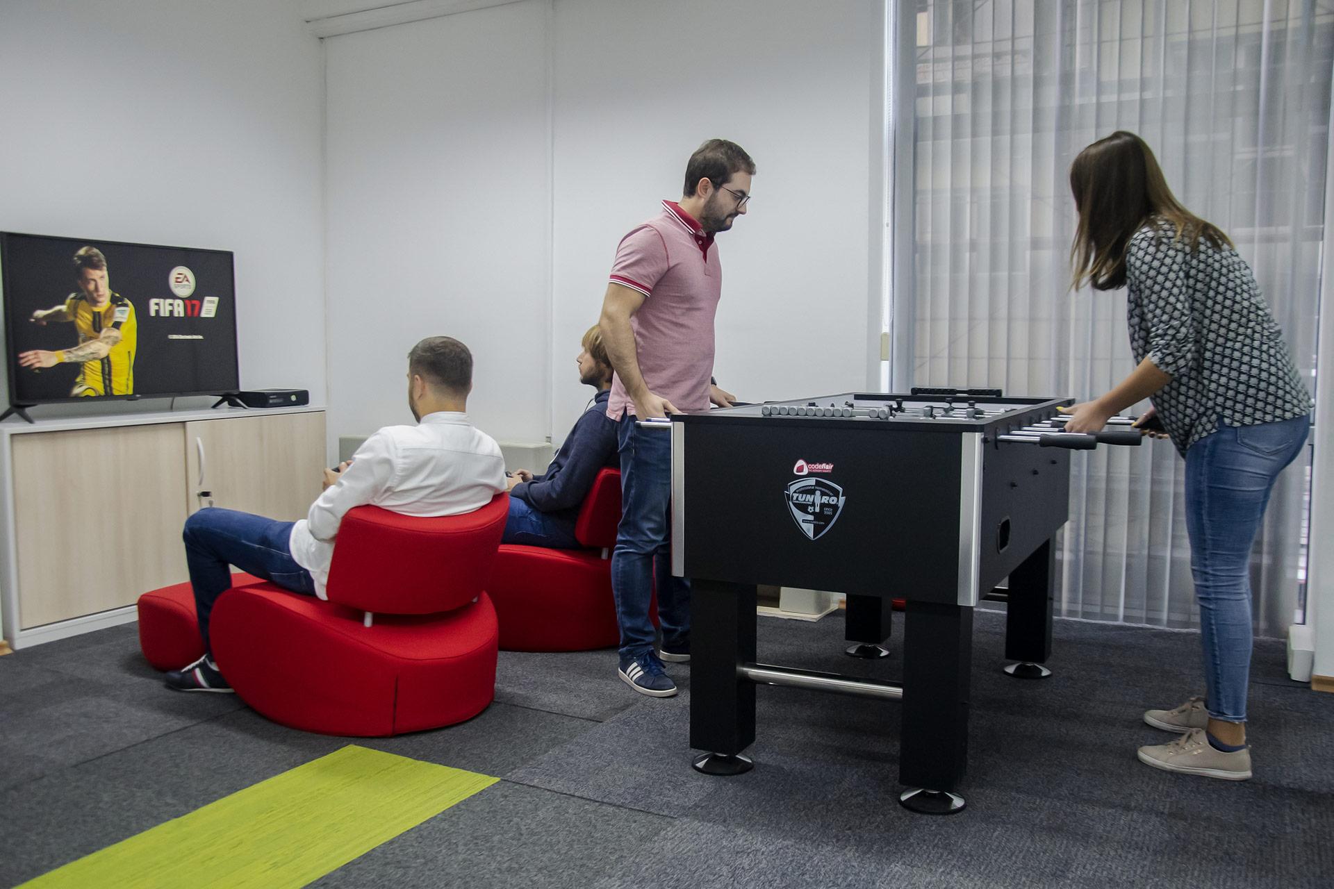 codeflair fun in the office